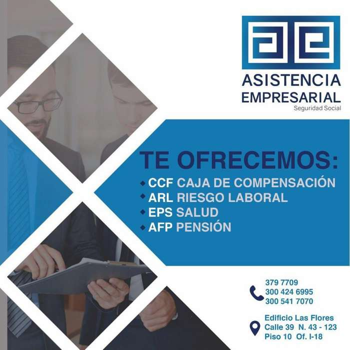 Cartagena, Bolivar BRINDAMOS AFILIACIONES A SEGURIDAD SOCIAL A COLOMBIANOS EN EL EXTERIOR 300 424 6995
