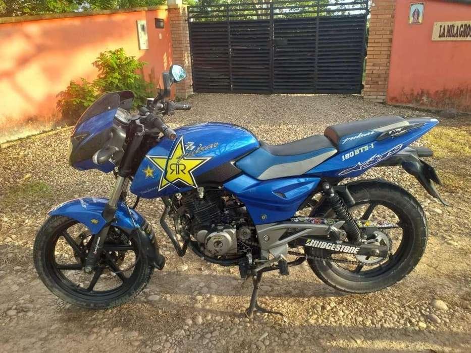Vendo Pulsar180 Azul Cambio X Boxer