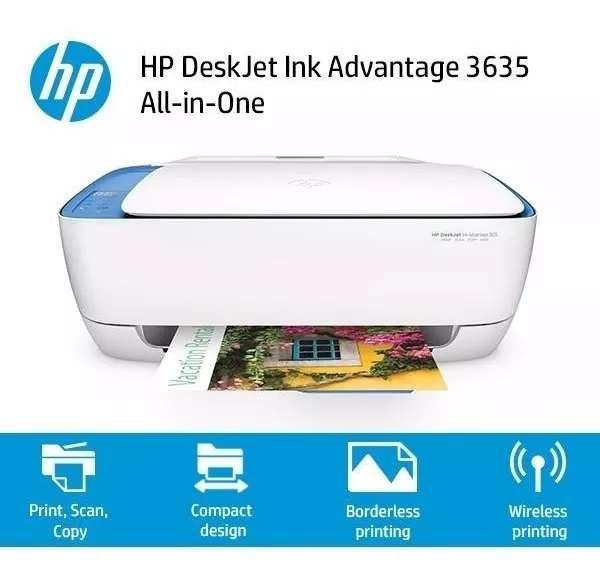 Impresora Multifuncional hp 3635