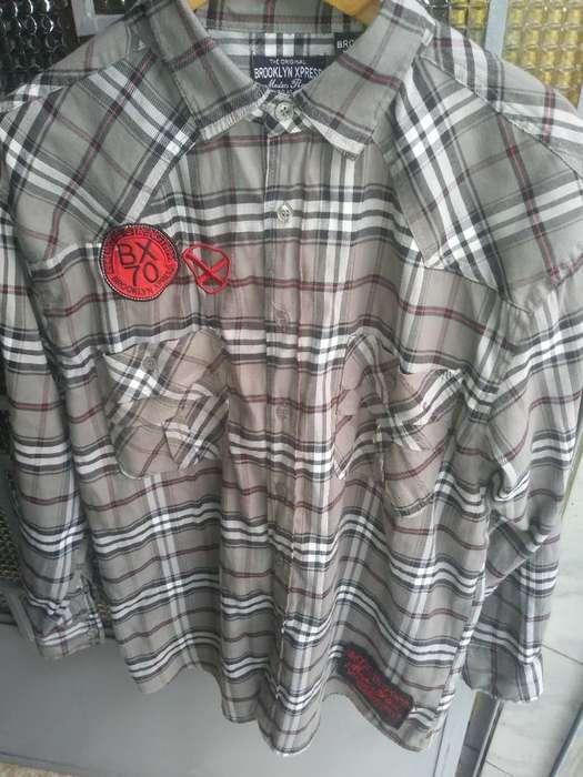 Camisa Brooklyn Xpress Talla L Original