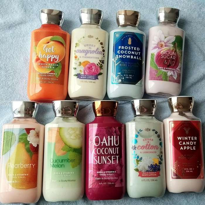 VENTA DE CREMAS Y SPLASH BATH AND BODY ORGINALES