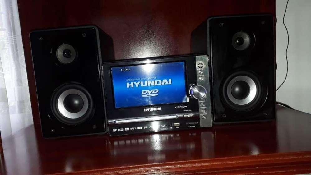 EQUIPO DE SONIDO: MINI COMPONENTE DE SONIDO HYUNDAI HYDVTV299