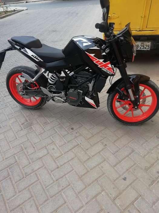 Vendo Ktm 200 Duke Nueva
