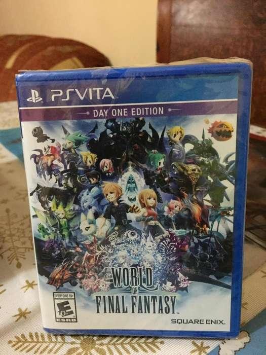 Juego World of Final Fantasy para PS VITA sellado!