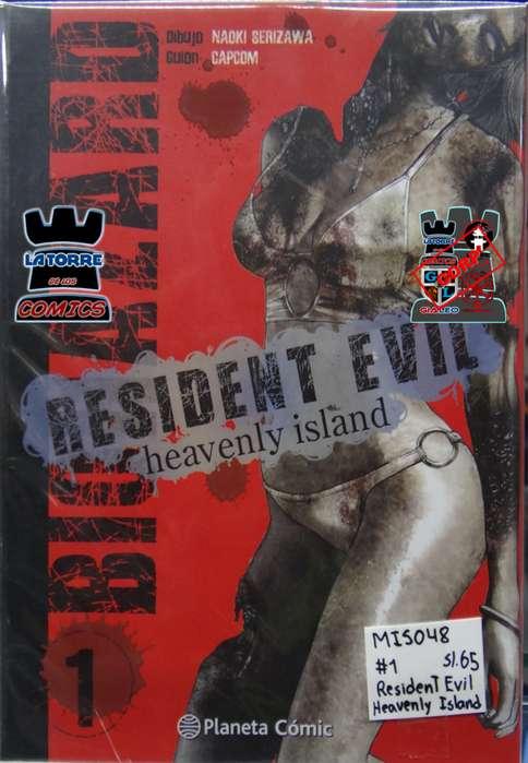 MANGA RESIDENT EVIL HEAVENLY ISLAND 1 [AREQUIPA LATORRE CORP.]