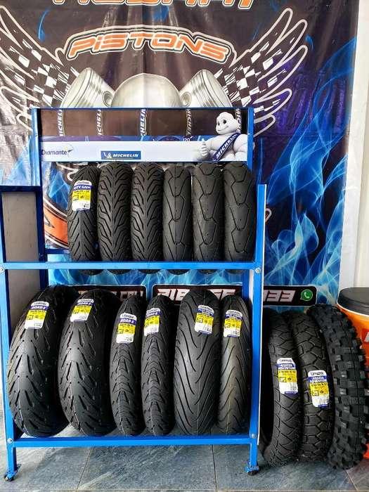 Llantas Michelin , Yamaha , Road5, Power