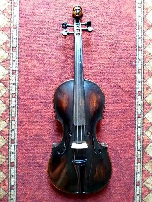 violin checoslovaco hecho a mano Helmer Praga antiguo