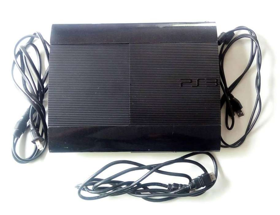 PS3 SUPER SLIM 250GB, FLASHEADA CON 35 JUEGOS INSTALADOS, TIENDATOPMK