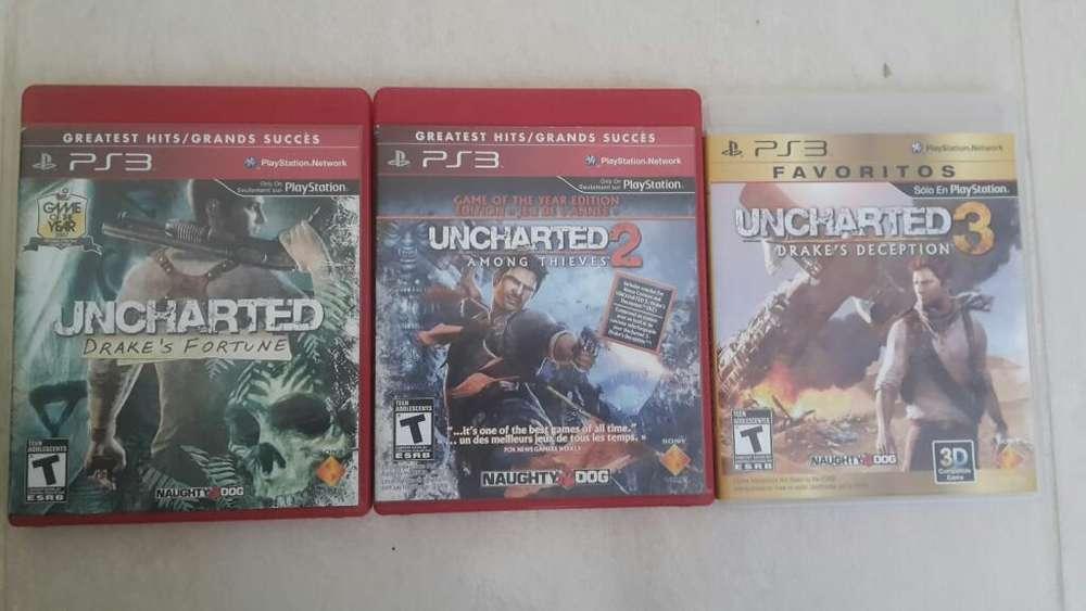 Saga Uncharted Disponible para Ps3