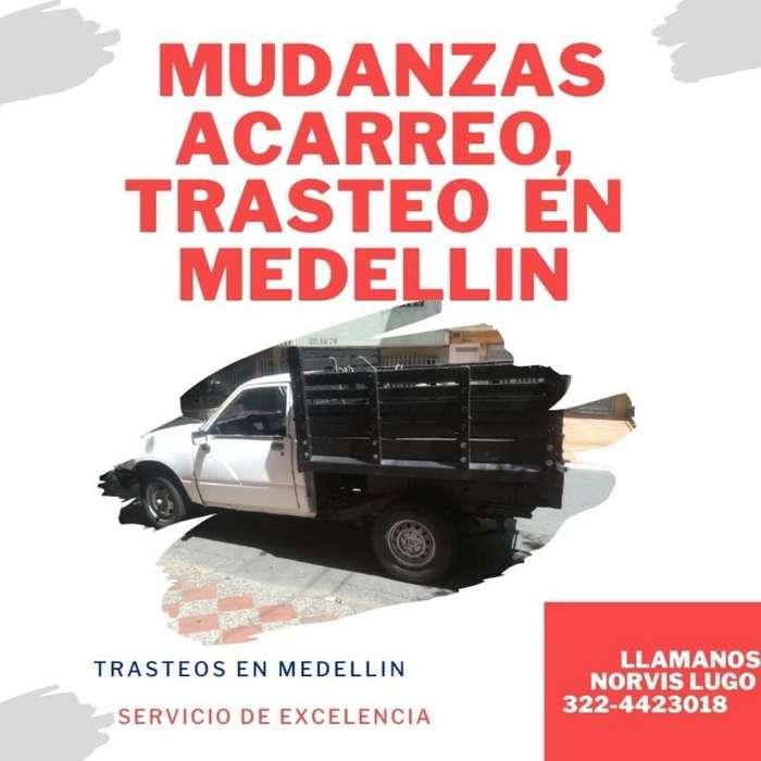 Mudanza, Acarreo, Transporte en Medelli