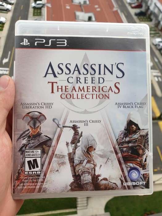 Vendo 3 Juegos Assasins Creed para Ps3