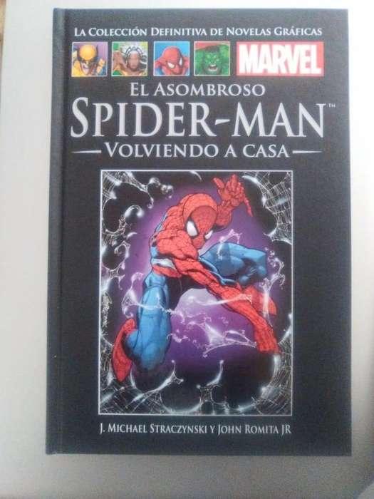 <strong>novelas</strong> gráficas de Marvel
