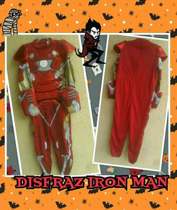 Disfraz de Iron Man Incluye Mascara