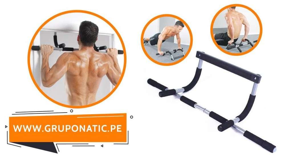 Barra Biceps Triceps Pectorales Iron Gym Gruponatic San Miguel Surquillo Independencia La Molina Whatsapp 941439370