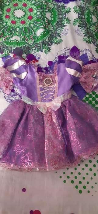 Disfraz de Rapunzel Talla:12 a 24 Meses