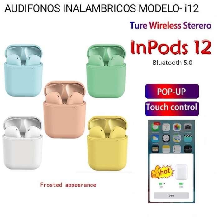 Audifonos Bluetooh I12 para Telefonos