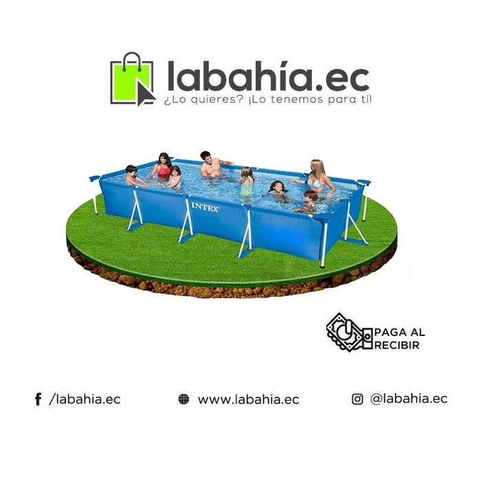 Piscina armable Intex 450cm X 220cm X 84cm