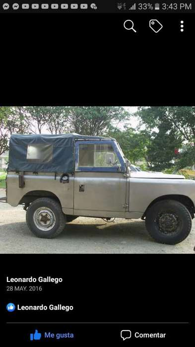 Land Rover Santana 1970 - 288000 km