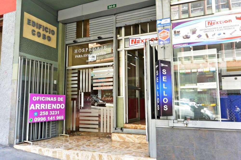 Alquiler de oficina en Santa Prisca, Quito