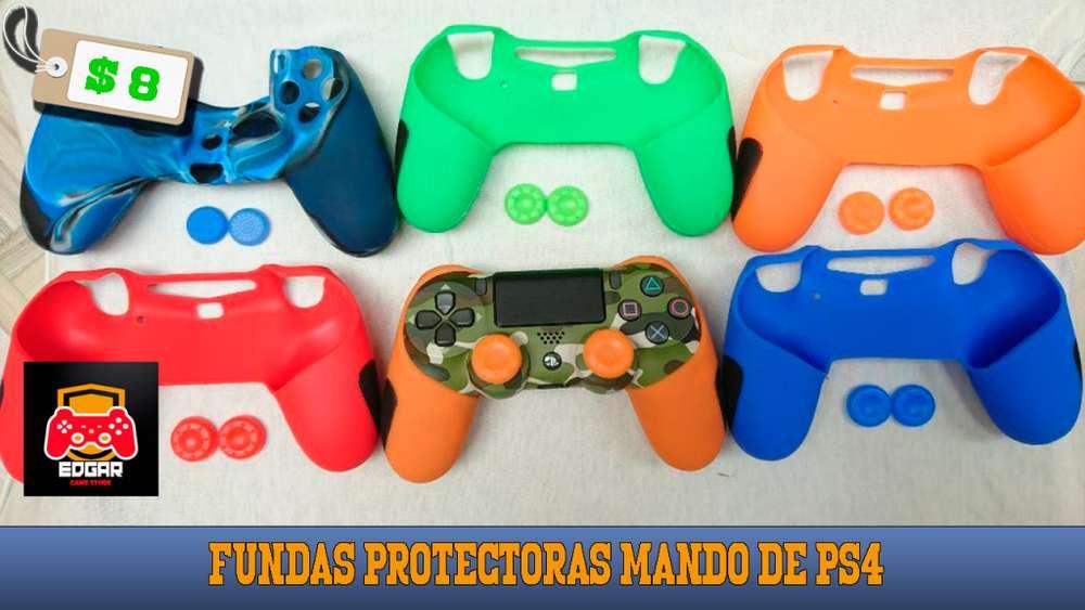 Fundas protectoras para mando de PS4