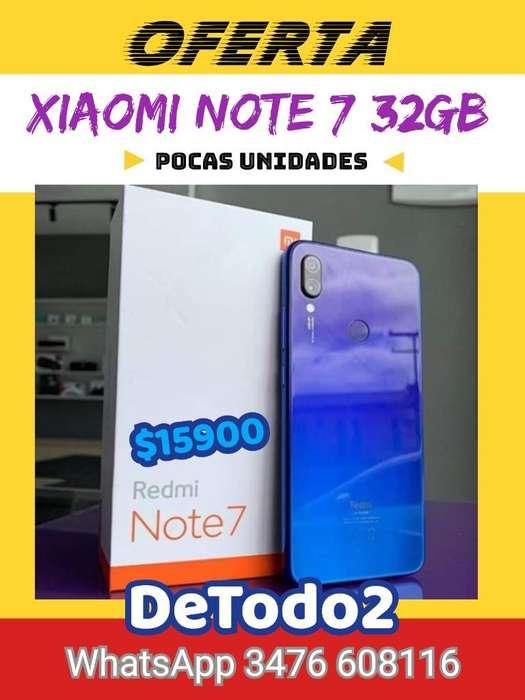 Xiaomi Redmi Note 7 32gb, Nuevo, Gtia.