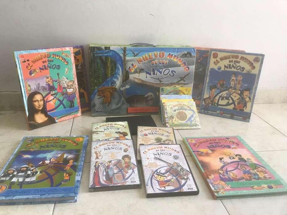 Enciclopedia para nios con dvd interactivos