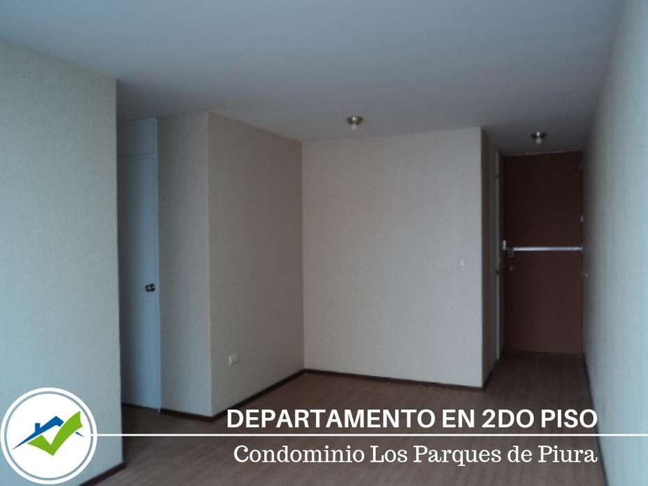 VENTA DEPARTAMENTO SEGUNDO PISO LOS PARQUES DE PIURA