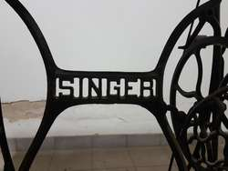 Máquina Antigua de Coser Singer