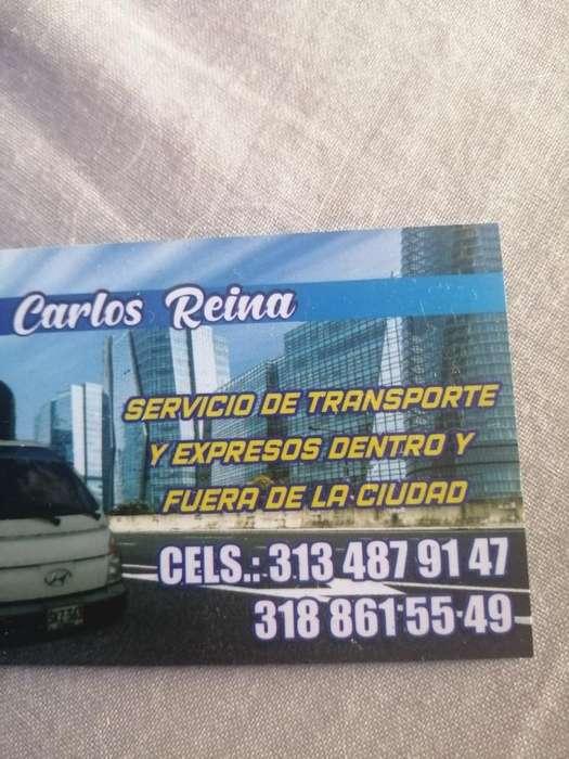 Servicio de Transporte Y Mudasas de Chia