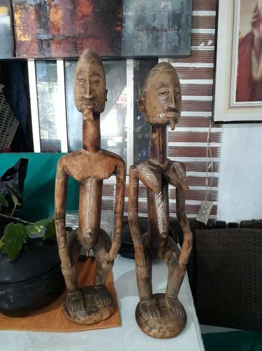 Muñecos Artesanales Africanos