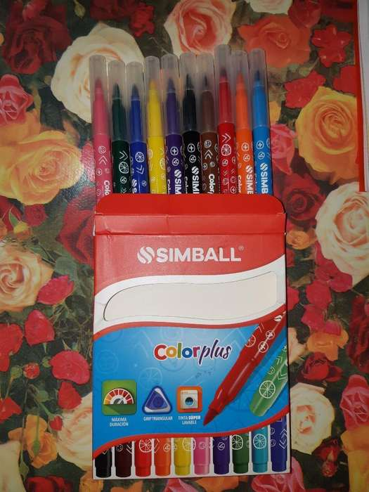 Marcadores Simball Color Plus