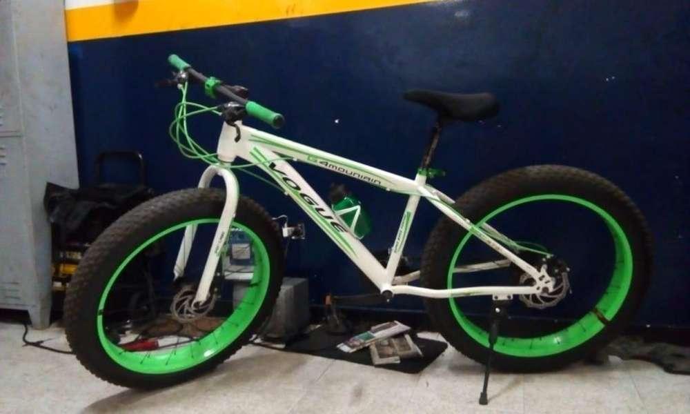 Vendo bicicleta cicla llanta ancha