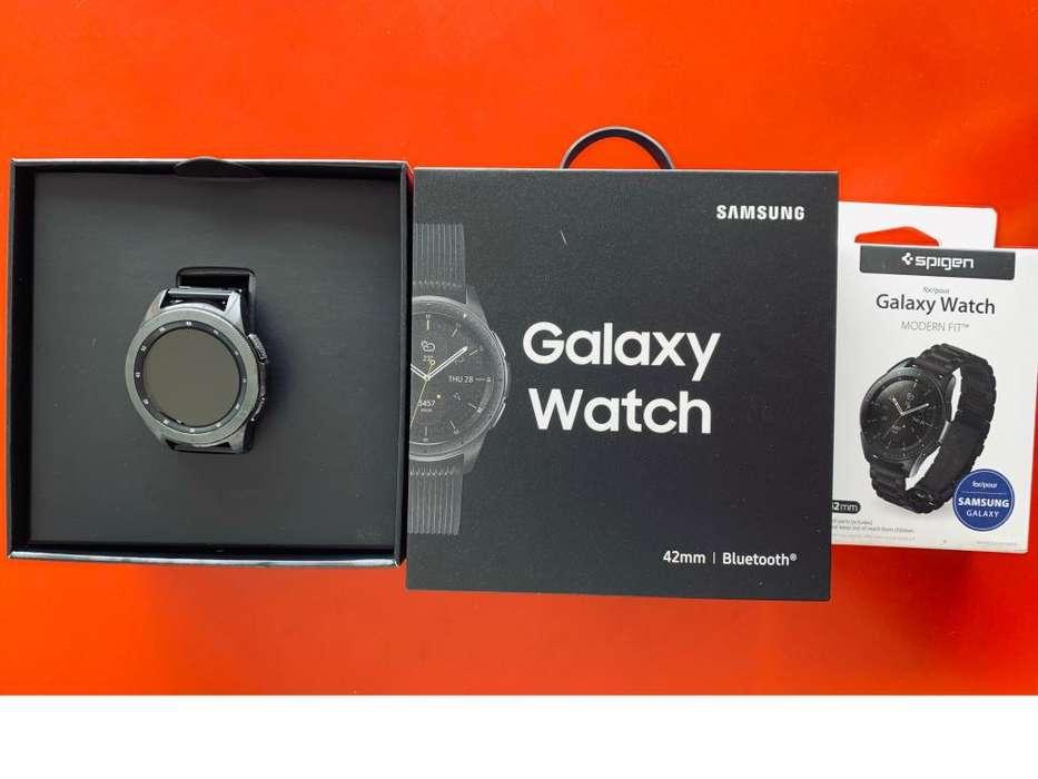 Samsung Galaxy Watch Negro, Perfecto Estado Funcional y Estetico,