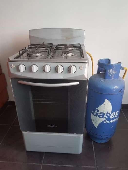 Cocina a Gas con Pipeta