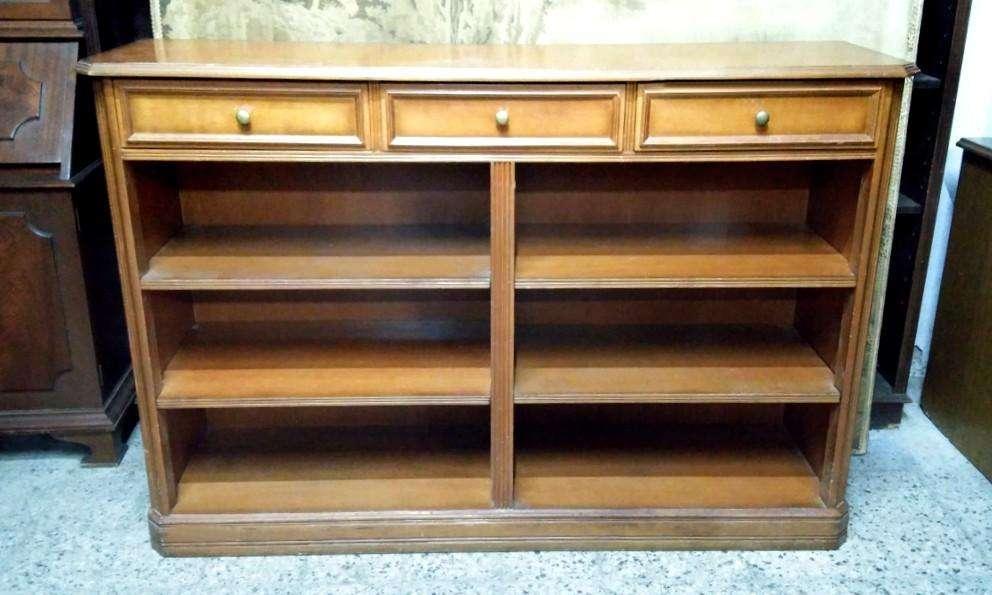 * IMPORTANTE Biblioteca Inglesa Tres Cajones <strong>estantes</strong>