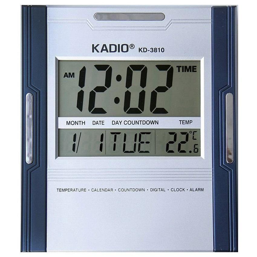 0adcff48e9de Reloj Pared Digital Kadio Termometro Fecha Alarma Calendario - Medellín