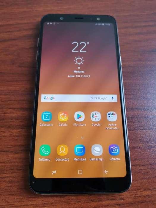 VENDO Samsung A6 Plus 64G LIBRE IMPECABLE