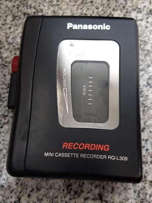 Grabador reportero <strong>panasonic</strong> cassette