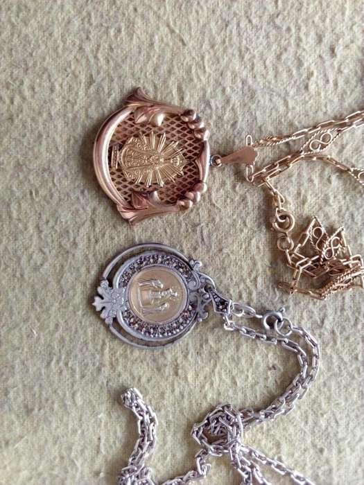 Medallas <strong>plata</strong> y oro 23000.-