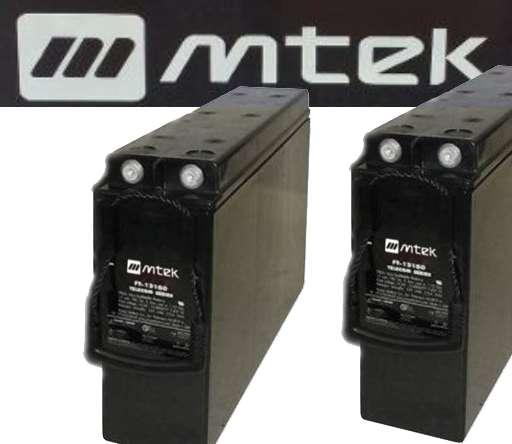 4 Baterias Nuevas Mtek 12v 155 Ah Mt1215