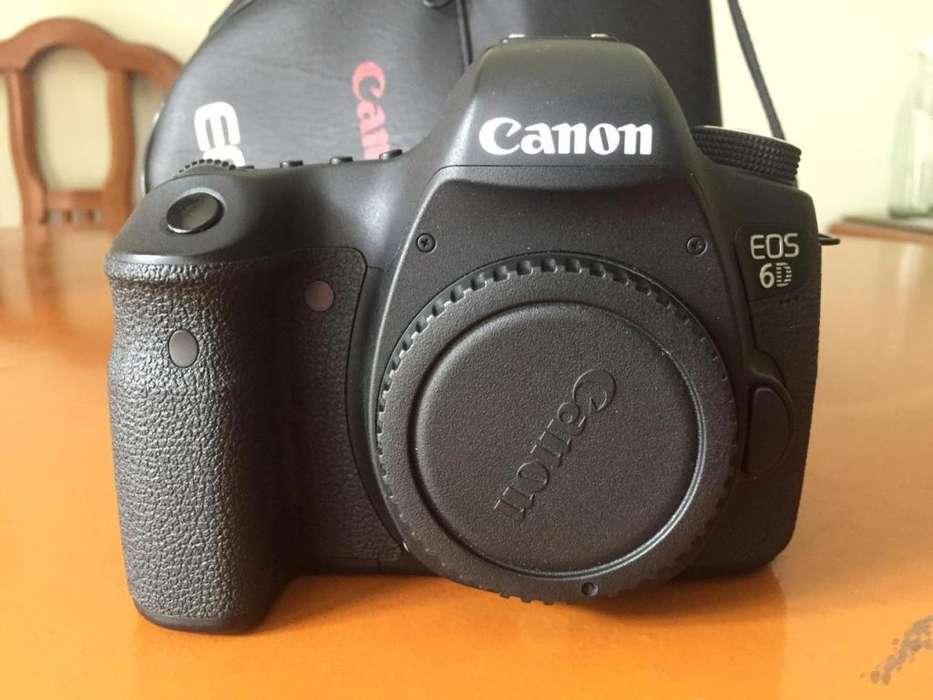 Cámara Profesional Canon Eos 6d Perfecto Estado