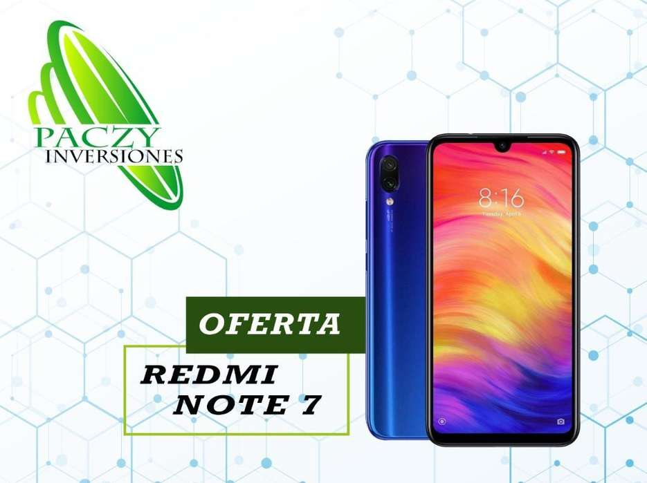 Redmi Note 7 64gnuevo ,tienda ,garantia