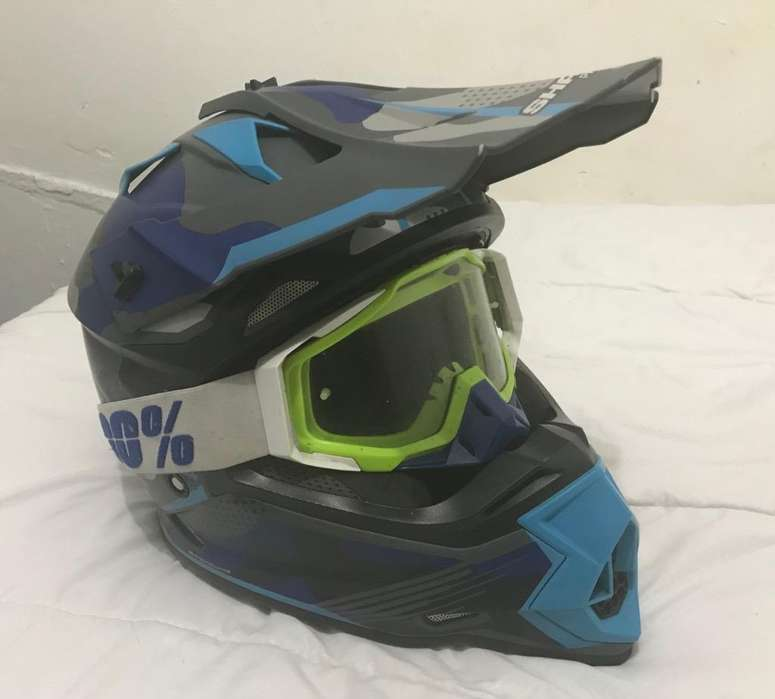 Casco Estilo Cross