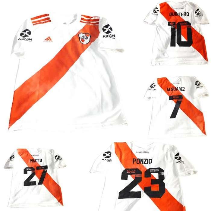 Camiseta River Titular Nueva Niños 2019