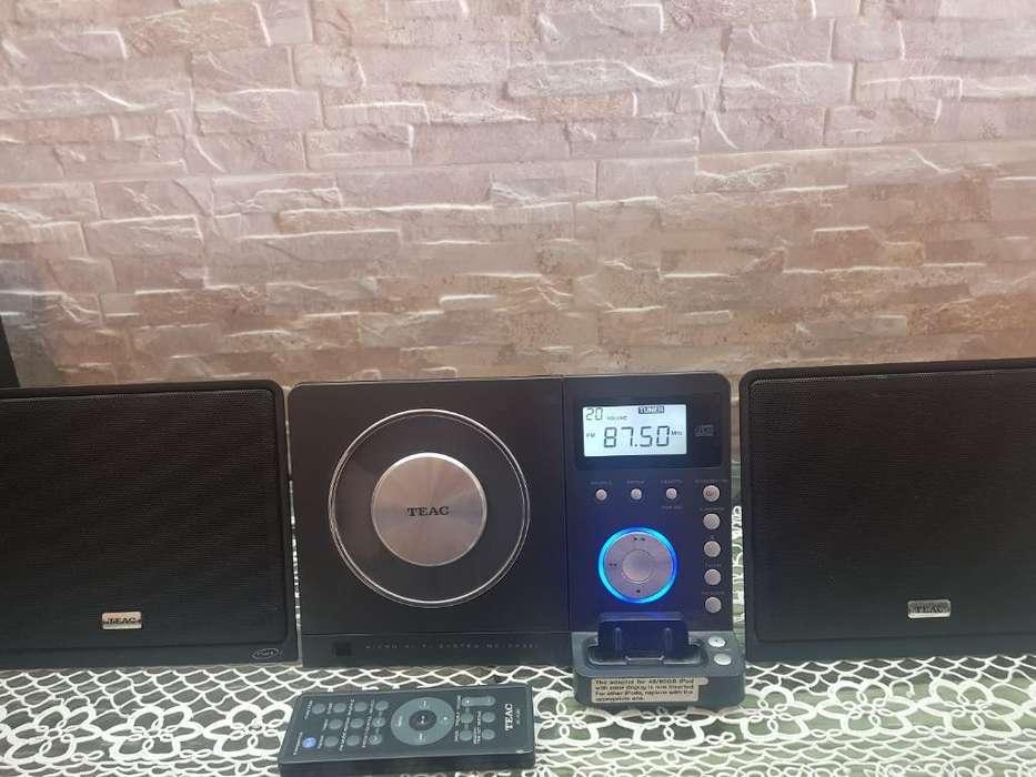 Sonido Teac Td300 Cd/mp3/<strong>ipod</strong> Dock/fm