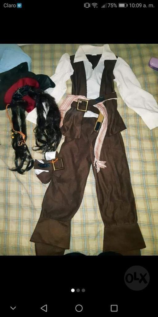 Disfraz Jack Sparrow