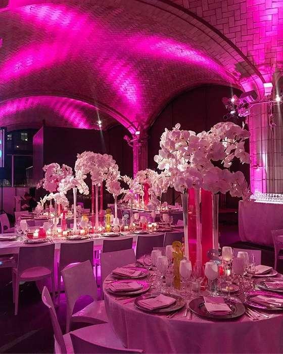 Alquiler de Luces led para bodas y eventos en Cartagena