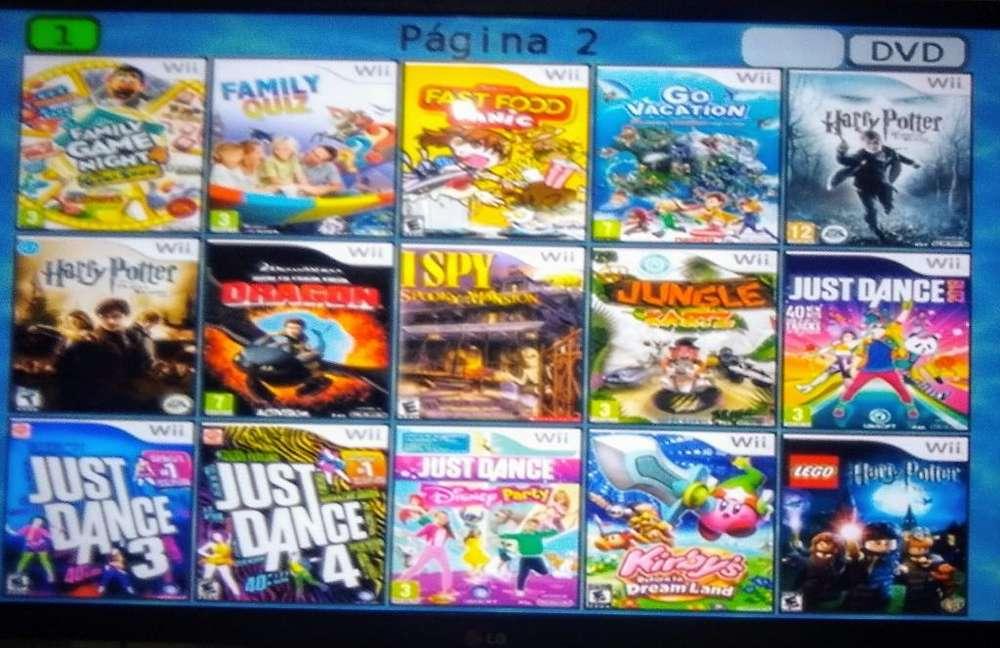 Juegos Wii Consolas Programadas