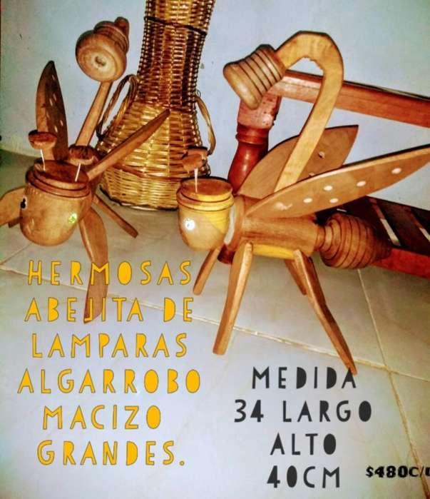 Abejita Lampara de Algarrobo