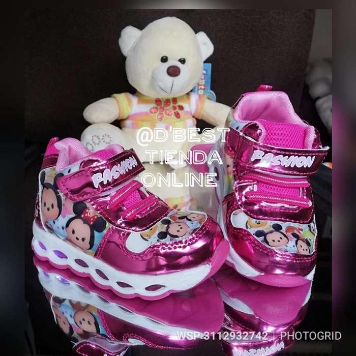 Zapatillas con Luces para Bebes
